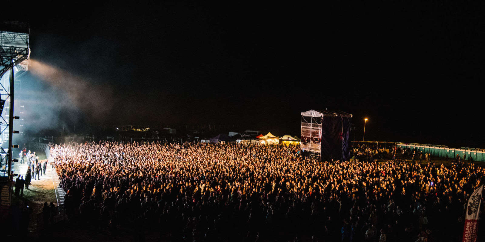 Jarocin Festival 2016 - concerts on stage and crowd