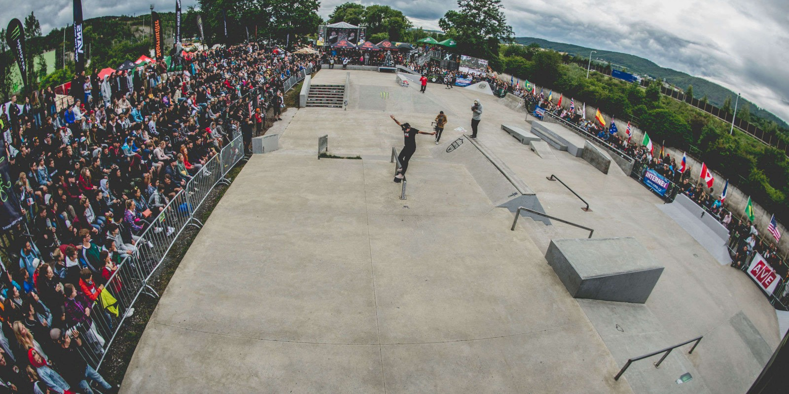 Grand Prix Beroun 2018 Skate competition