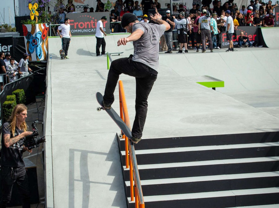 Shots from Dew Tour in California