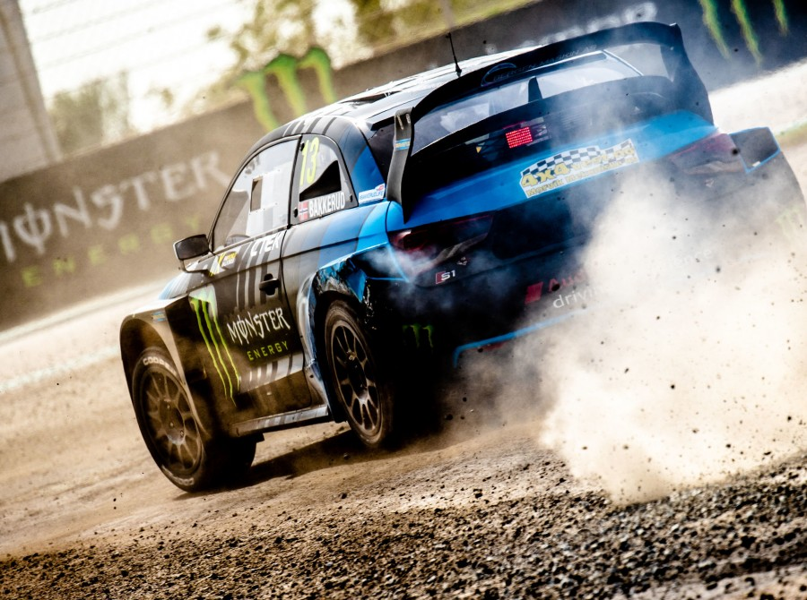 Day two images from the 2019 World RX of Abu Dhabi