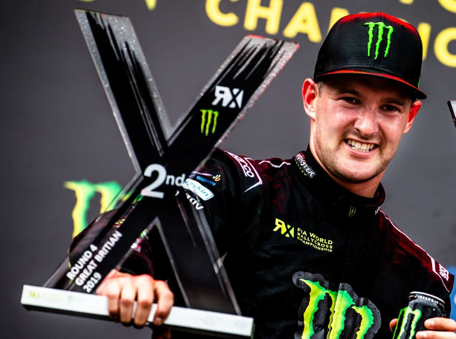 Sunday images from round four of the 2019 FIA World Rallycross Championship - UK