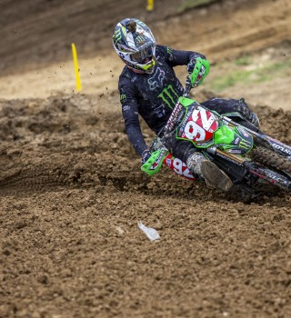 Images from Motocross Event in High Point Raceway at Mount Morris, Pennsylvania