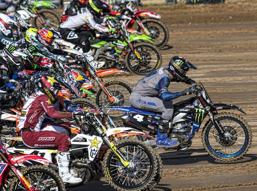 Photos from MXGP stage in Kegums, Latvia
