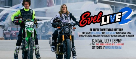 2019 Web Event Hero for Evel Live 2 with Axell and Vicki Golden