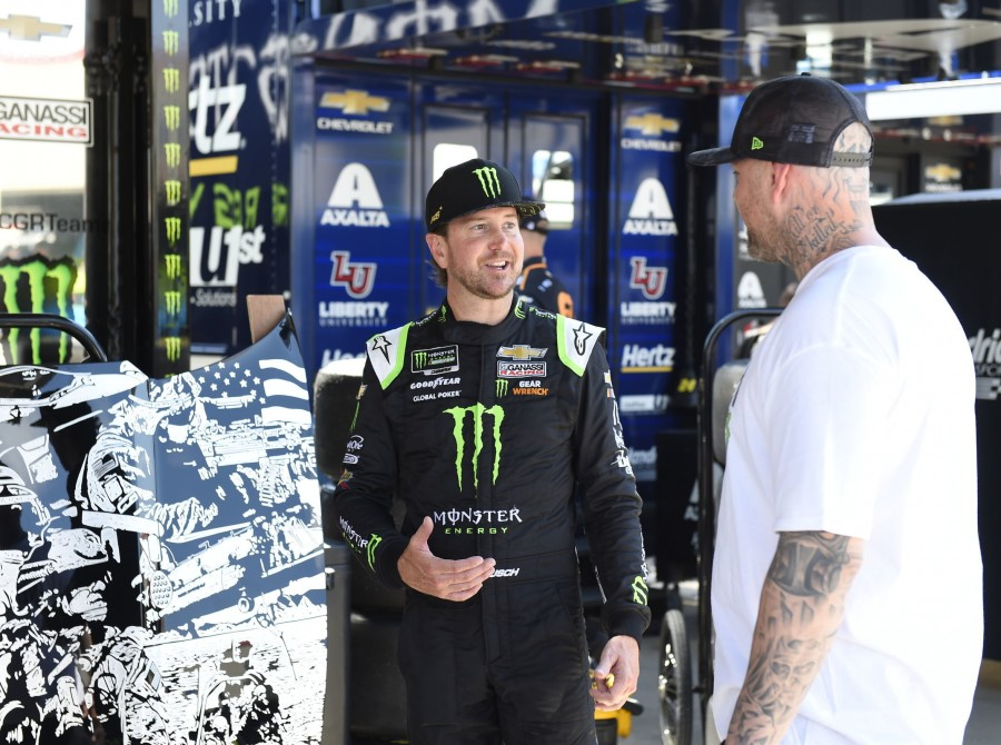 Images from the 2019 Monster Energy NASCAR Cup Series All-Star Race at Charlotte Motor Speedway