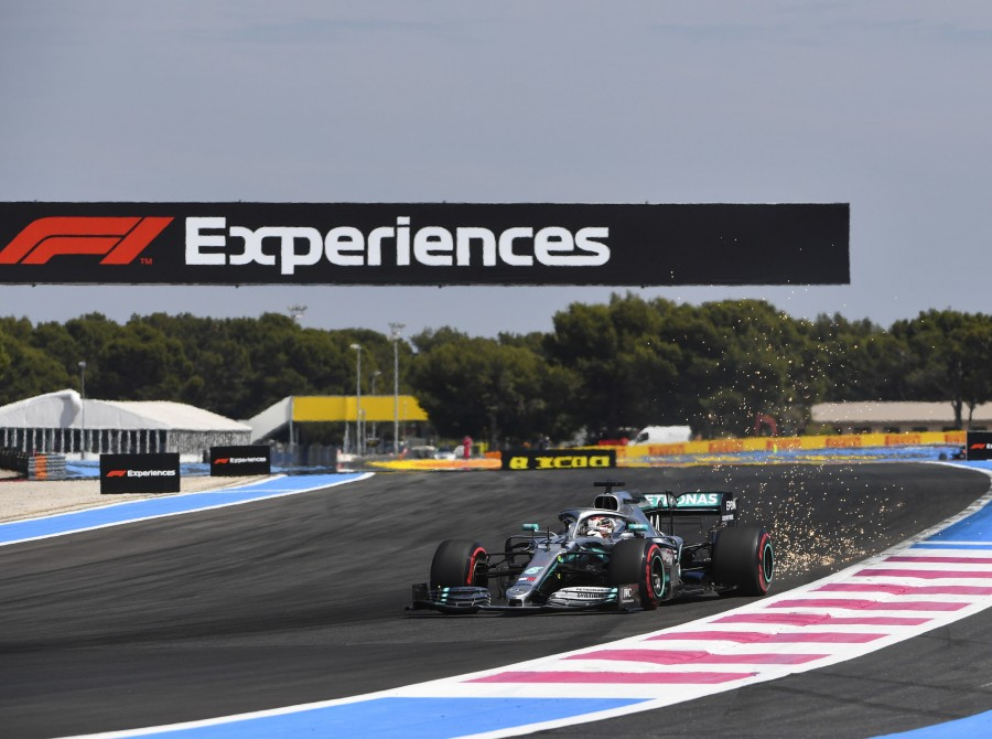 Images from the 2019 Formula 1 event at the Circuit Paul Ricard race track in Le Castellet, France