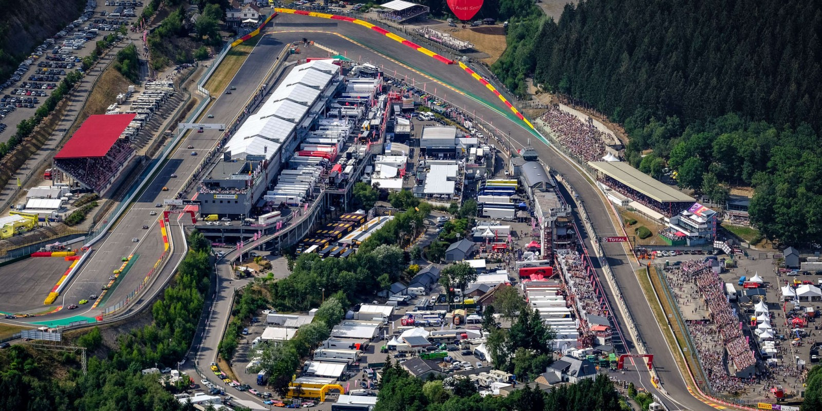 Pictures of the 24 hours of Spa 2018.