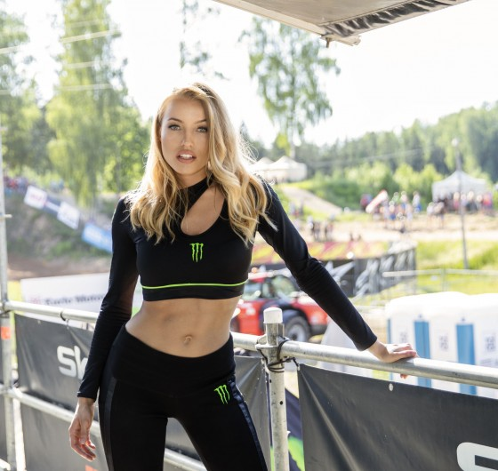 Monster Girls at the MXGP in Latvia