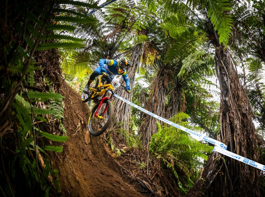 Images of Sam Hill at the Enduro World Series #1 in Rotorua, New Zealand.
