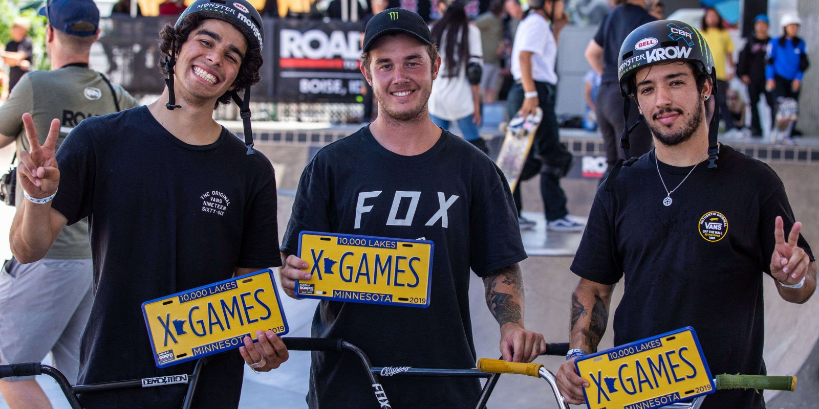 Set of Images showcasing the road to the 2019 X Games