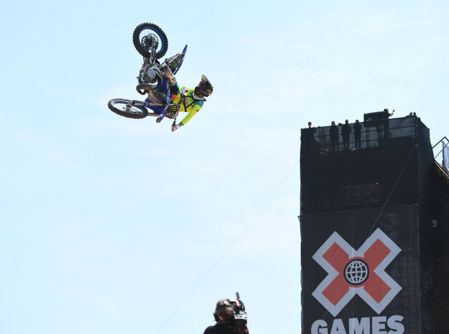 Images from the 2019 Best Whip at the X Games event in Shanghai, China