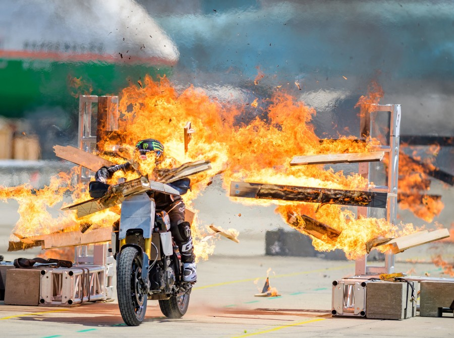 Images from Evel Live 2 Practice at  San Bernardino Airport on June 19, 2019