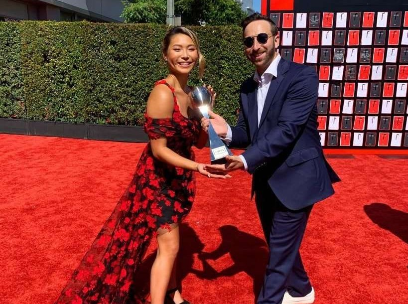 Image from the 2019 ESPY Awards at the Microsoft Theater in Los Angeles, CA