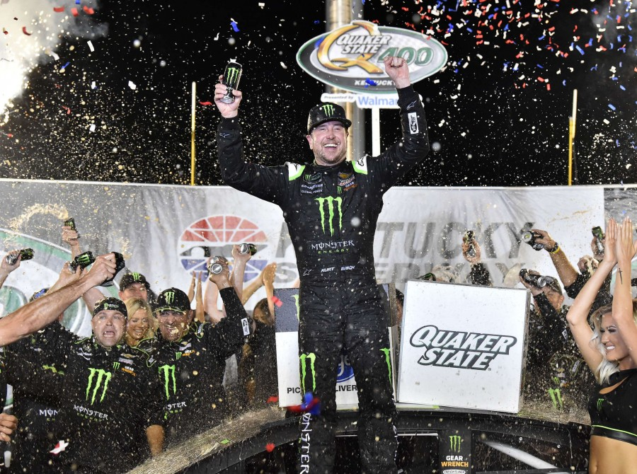 Images of Kurt Busch at the 2019 Quaker State 400, Monster Energy NASCAR Cup Series at the Kentucky Speedway in Sparta, KY.