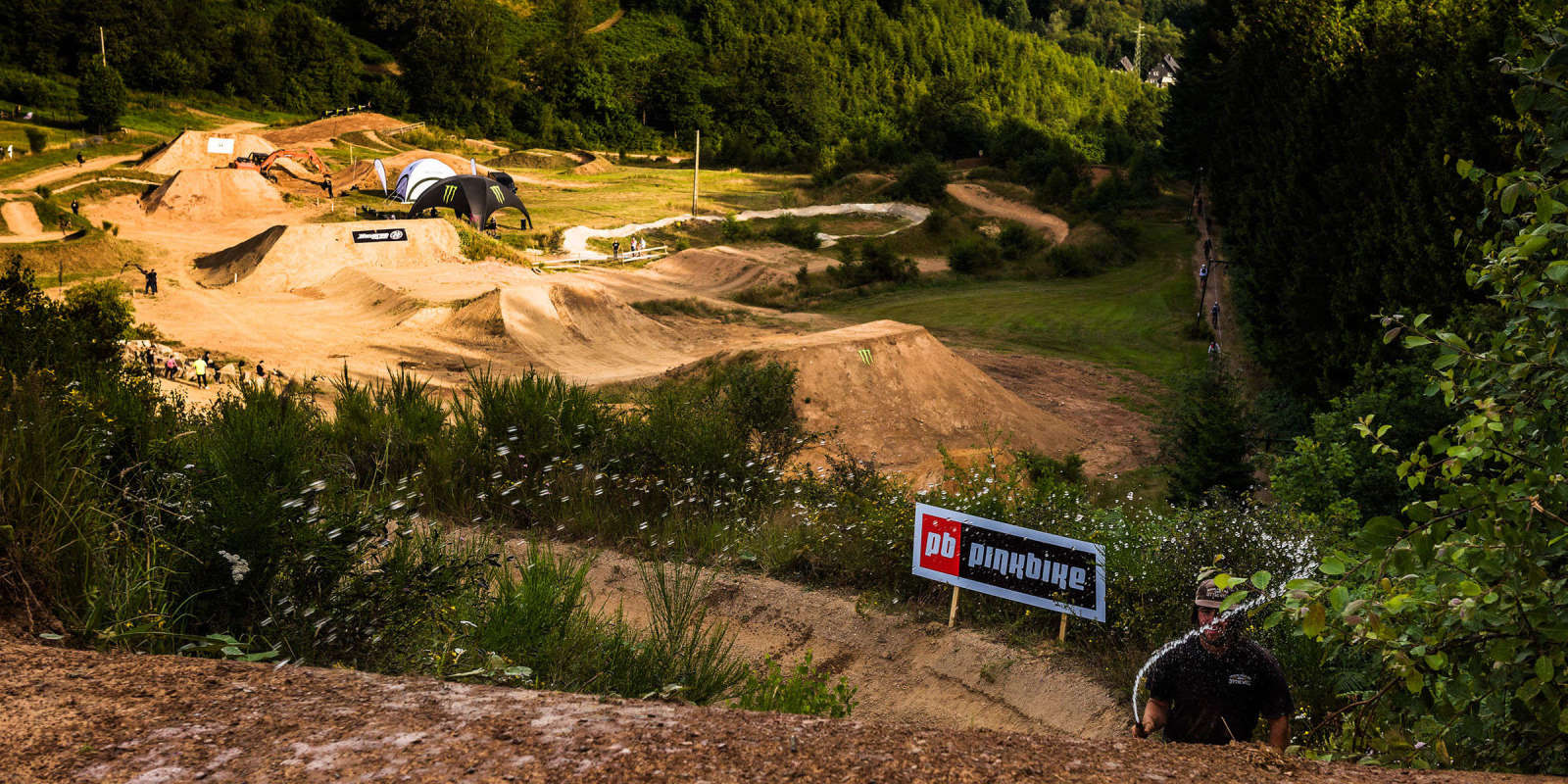 Loosefest XL 2019 Course walk with Sam Reynolds and Nico Vink