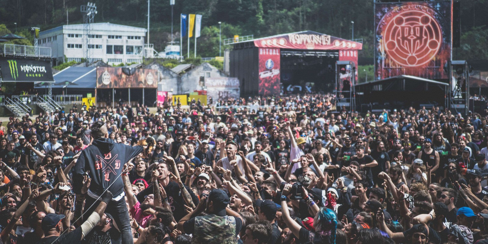 BAtch  of photos at Resurrection Fest 2019 in Viveiro, Spain