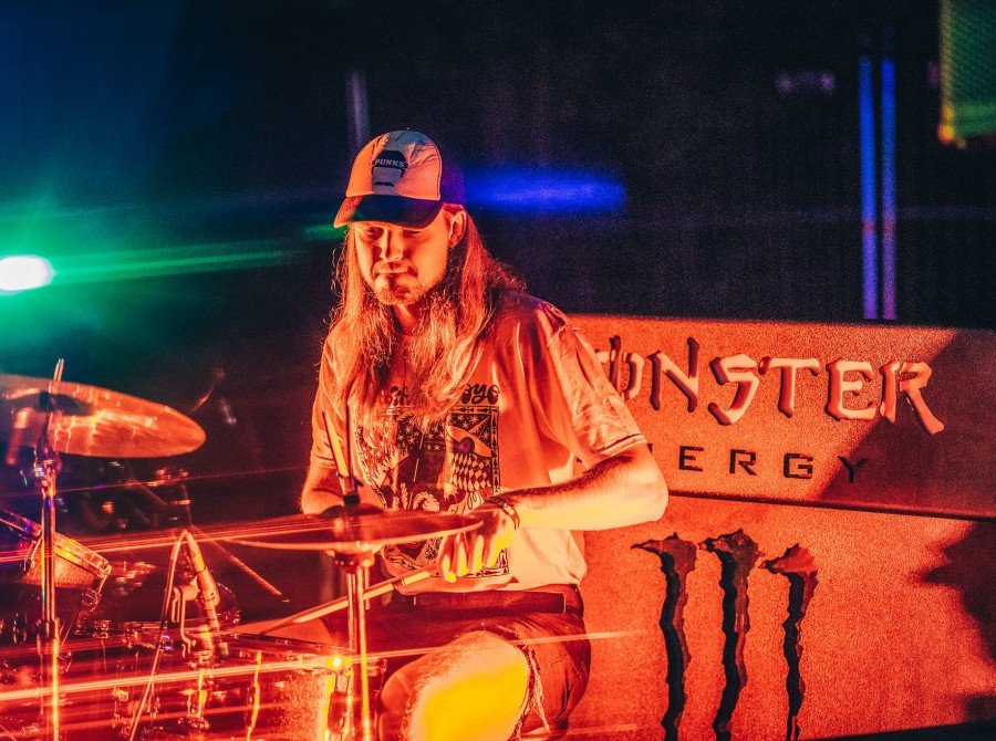 Photos from rock and metal music festival Devilstone where we had a local surprise band performance - EgoMašīna- at Monster energy activation Zone.