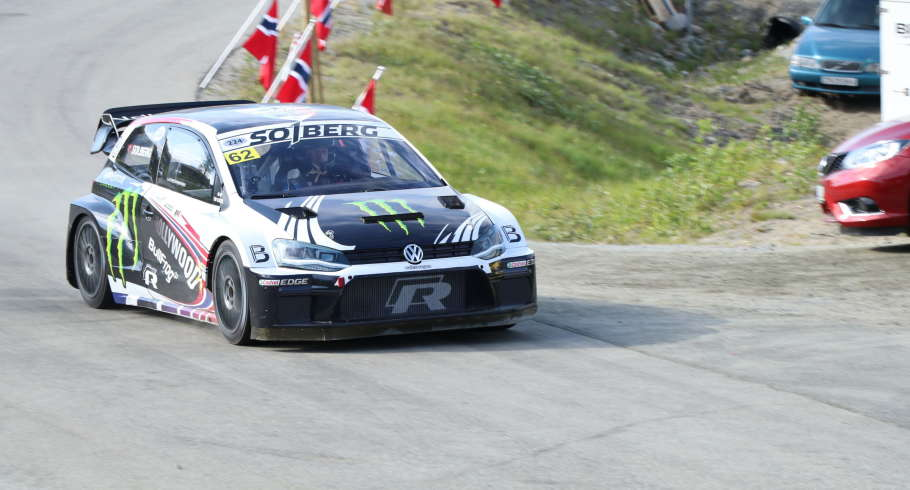 Petter Solberg at the 2019 Bakkeslop Hillclimb in Norway