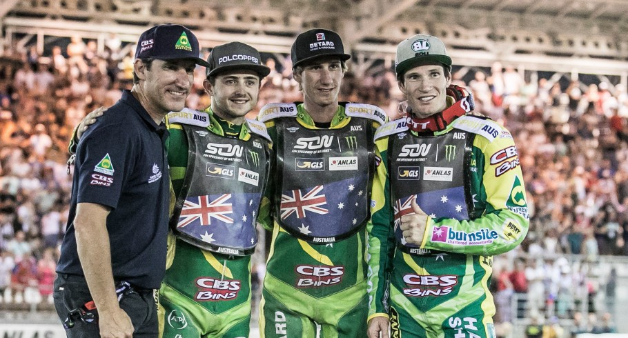 Action at Monster Energy Speedway of Nations Event