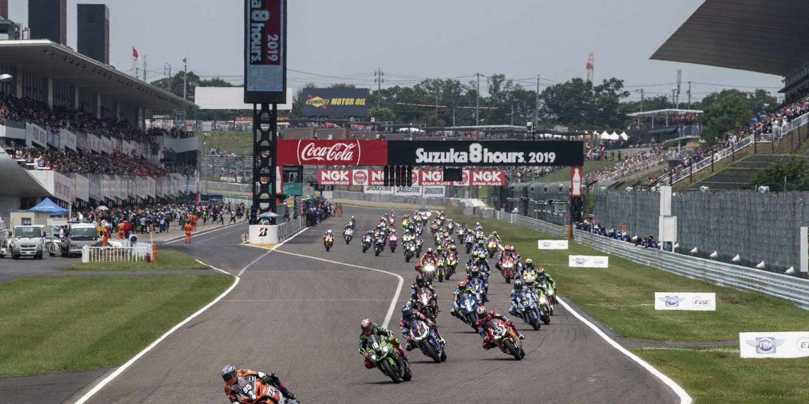 Action from the 2019 Suzuka 8hr