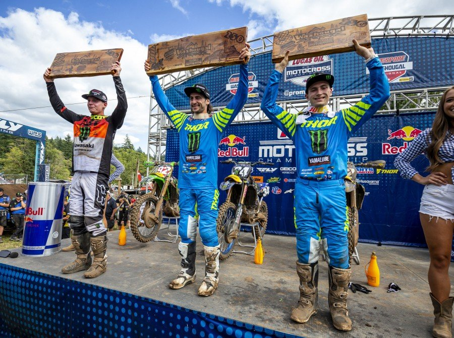 Images from the 2019 Lucas Oil AMA Pro Motocross Championship - Washougal National in Washougal, Washington on Sunday July 28th, 2019.
