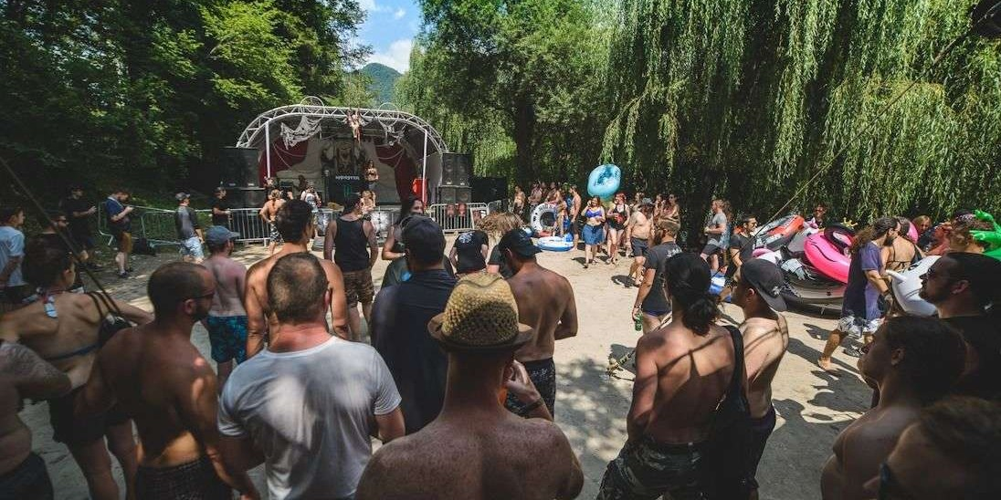 Image from the 2019 Metal Days Tolmin in Slovenia.