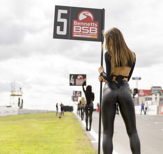 Monster Girls at the Monster Energy BSB Thruxton