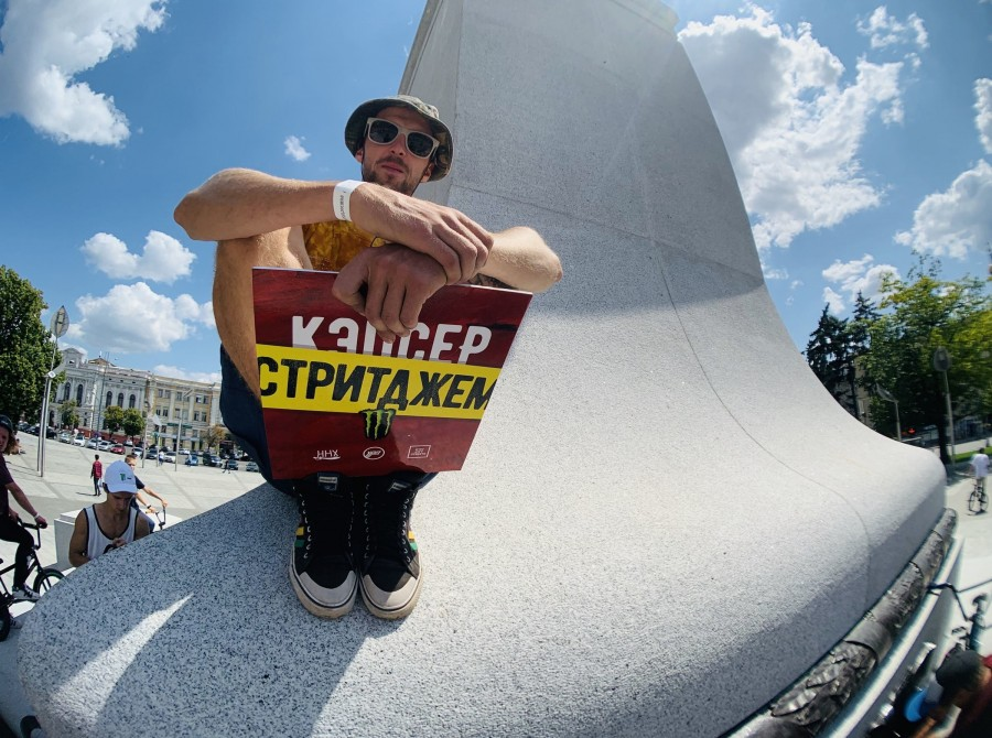 Pictures taken at the recent BMX Jam in Kharkiv supported by Monster Energy