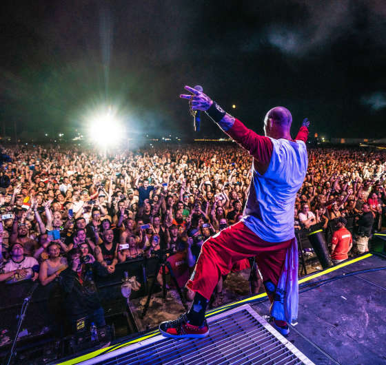 Images of Five Finger Death Punch performing at the 2019 Rock USA at goes from July 18th to July 20th in Oshkosh, WI.