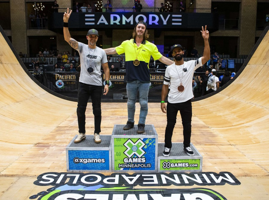 Images from the 2019 X Games Vert Final Event in Minneapolis, Minnesota