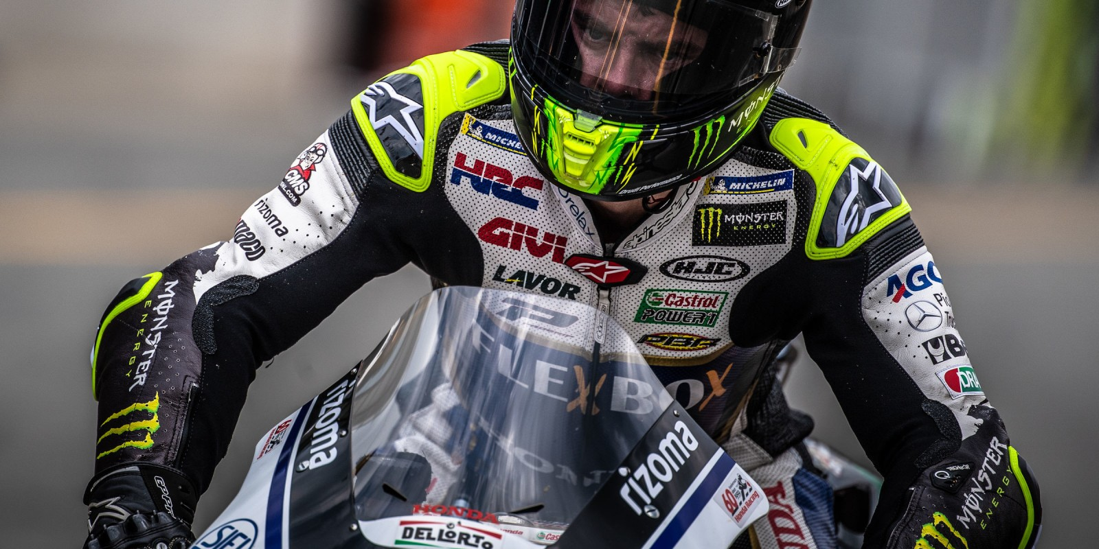 Practice rounds at MotoGP Brno 2019