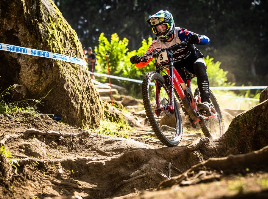Mountain biking is back in Val di Sole, in Daolasa, Commezzadura, Trentino! A hot summer in Val di Sole, thanks to the UCI Mountain Bike World Cup 2019...