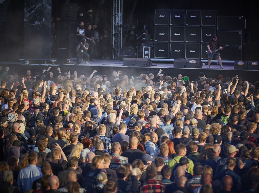 General site images from Copenhell music festival 2019 in Denmark.