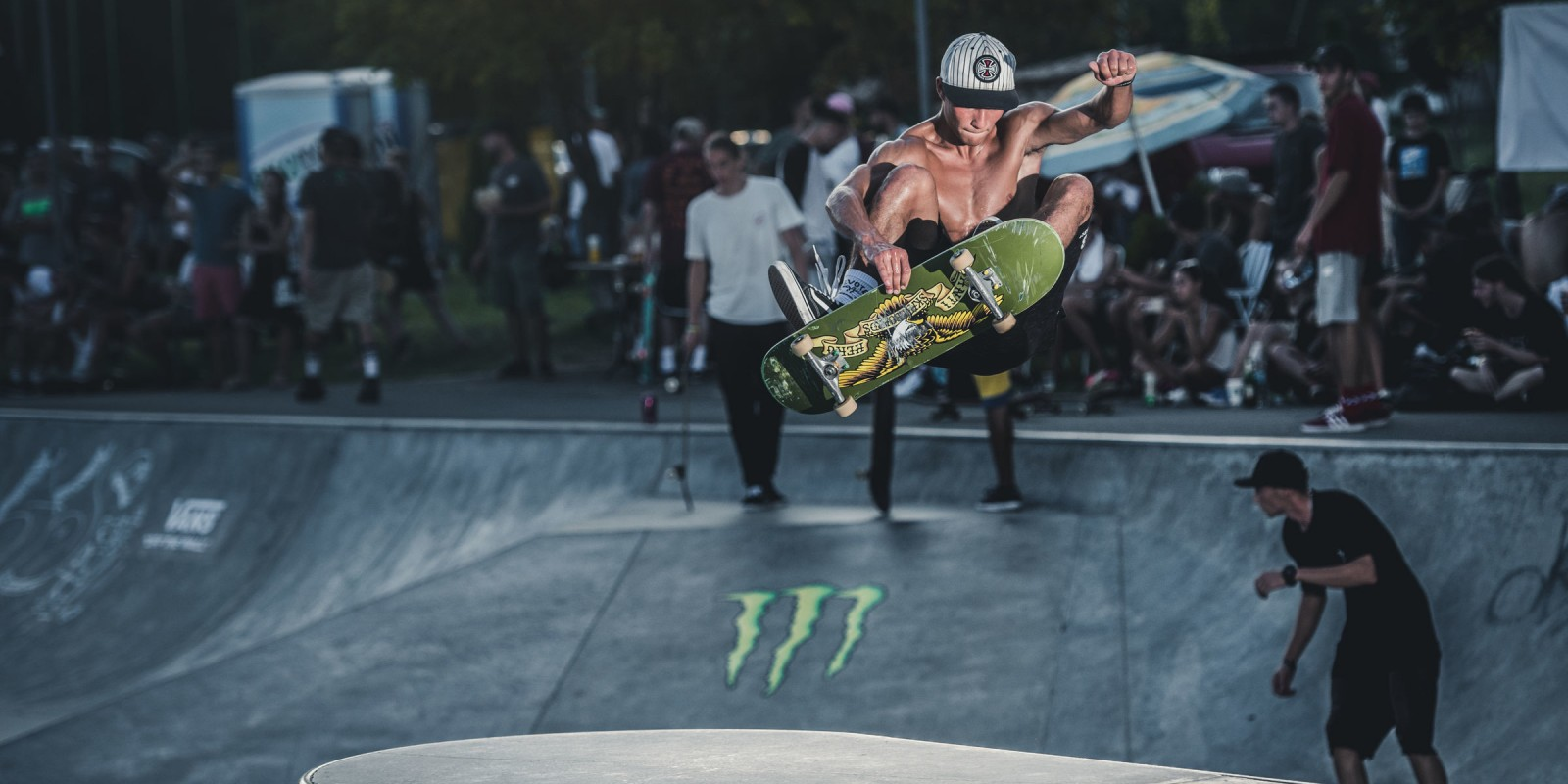 Photos taken during Burgas Skate Open 2018 supported by Monster Energy. Credits: Actiongraphers (Graphic Media)