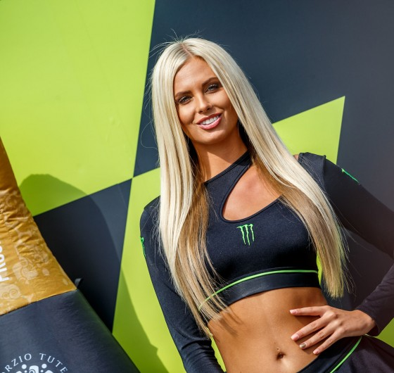 Monster Girls at the Brno MotoGP