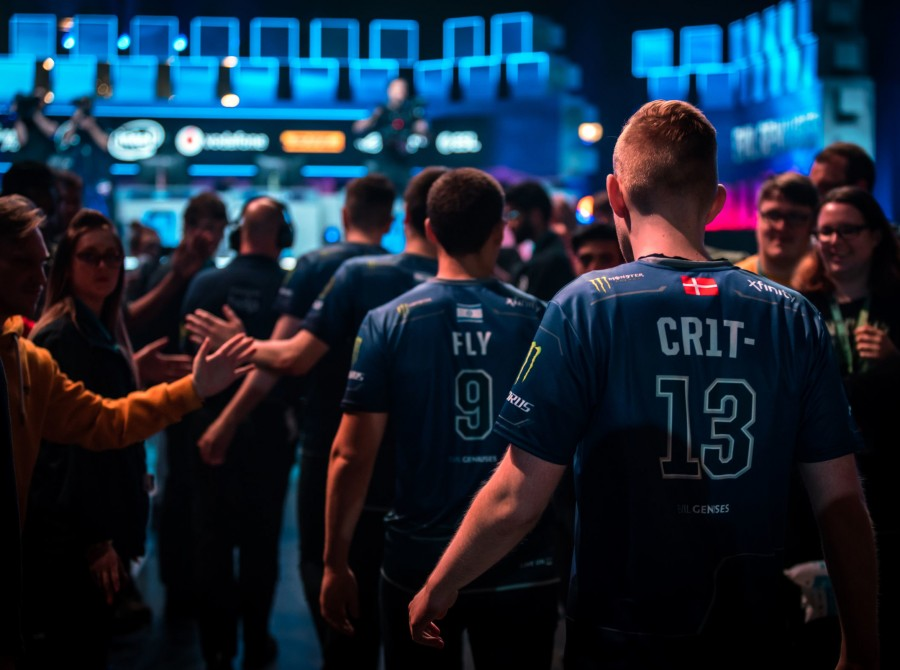Photos of Evil Geniuses playing in ESL ONE Birmingham. They placed 2nd this event.
