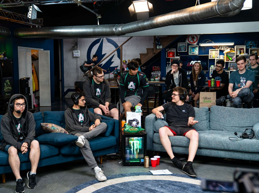 Photos of Alliance Dota 2 playing at Dota Summit X. This was the last Dota 2 tournament of the year before their biggest event, The International. Alliance took 1st place.