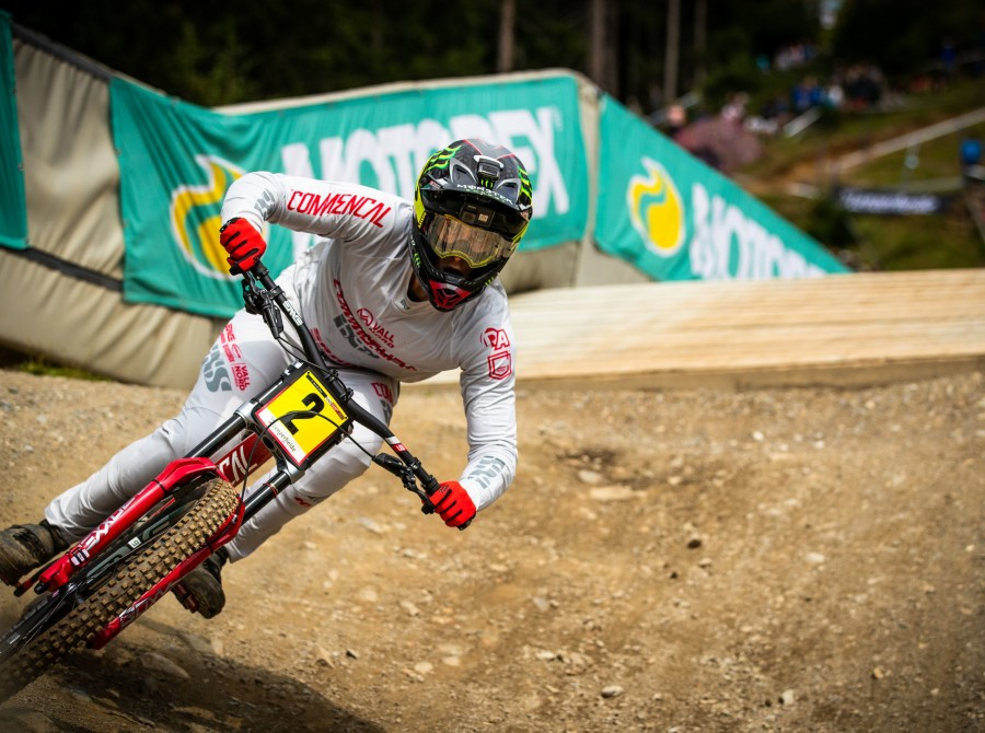 Images from the 2019 UCI Downhill mountain bike world cup in Lenzerheide Switzerland.