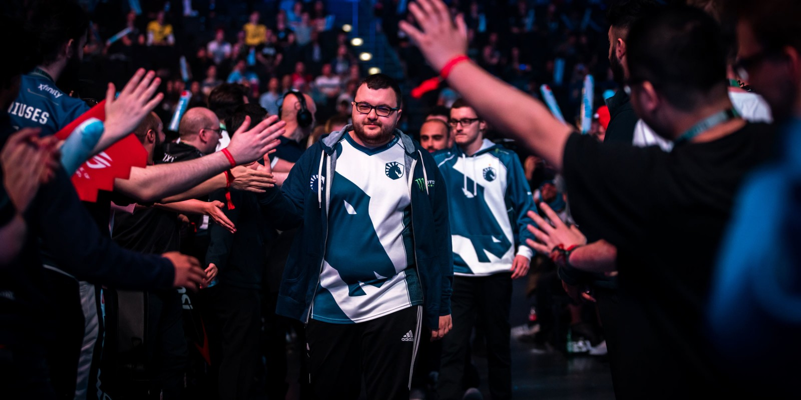 Photos of Team Liquid playing in ESL ONE Birmingham. They placed 7th/8th this event.