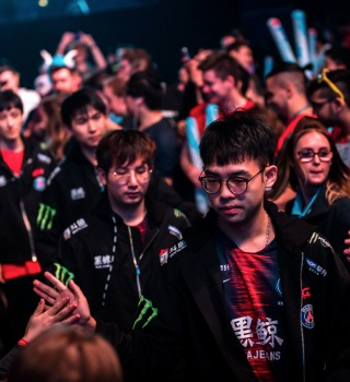 Photos of LGD playing in ESL ONE Birmingham. They placed 4th this event.