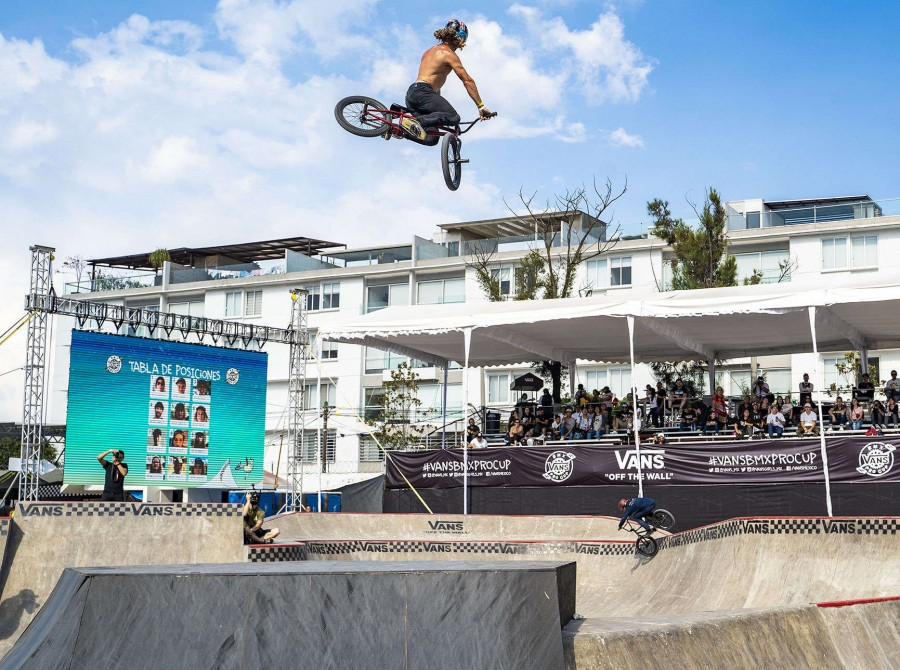 Images from the Vans BMX Pro Cup Mexico City 2019