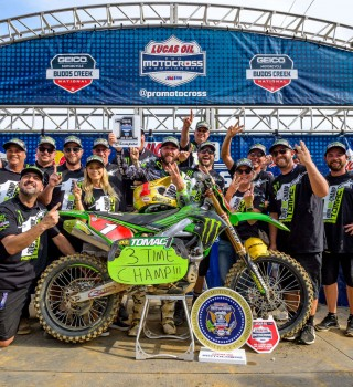 This year's Budds Creek National will serve as the penultimate round of the 2019 Lucas Oil Pro Motocross Championship, sanctioned by AMA Pro Racing.
