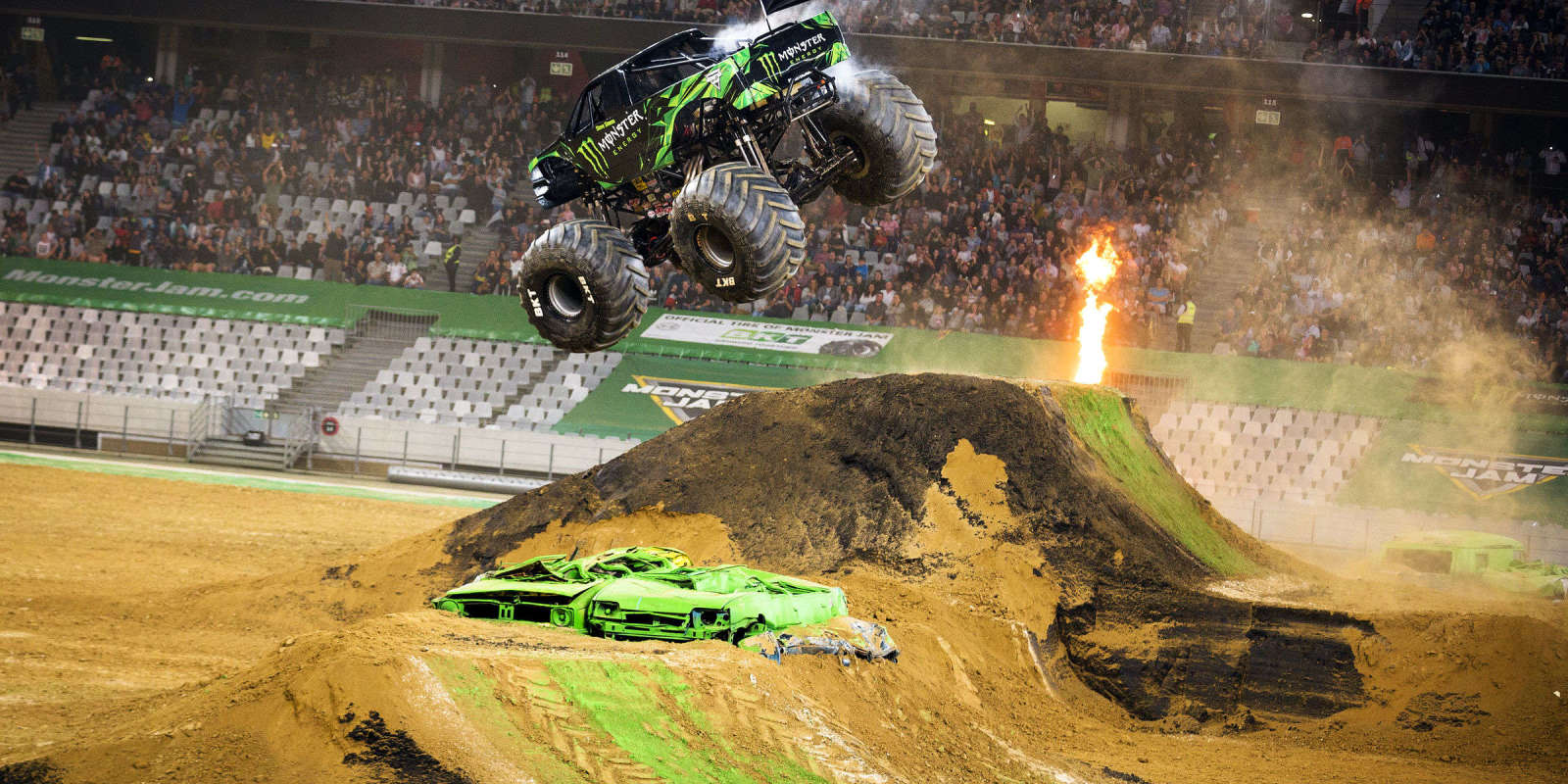 Monster Jam Antwerp We Had A Talk With Todd Leduc