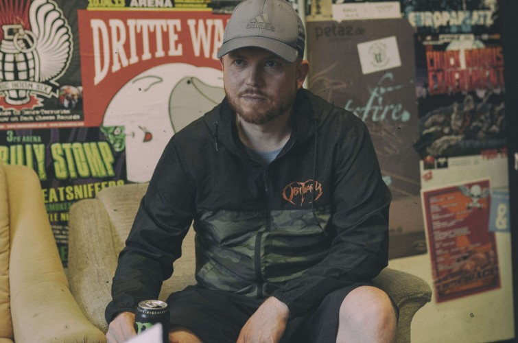 Photos of Jamey Jasta Interview + Hatebreed Show in Vienna.