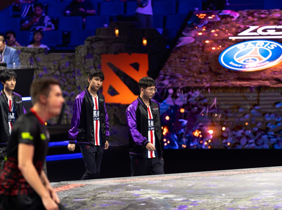 PSG.LGD's Dota 2 team were returning Grand Finalists from last year's The International 2018 (TI8). They then went on to dominate The International 2019 (TI9) until losing to the eventual tournament winners. The team would go onto finish 3rd place after l
