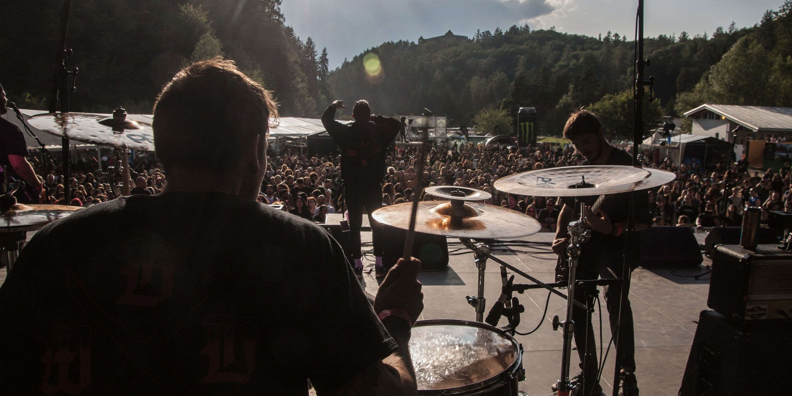 Imagery of ME Contracted Band Brothers Till We Die from the ME Contracted event Rockstadt Extreme Fest in Romania.