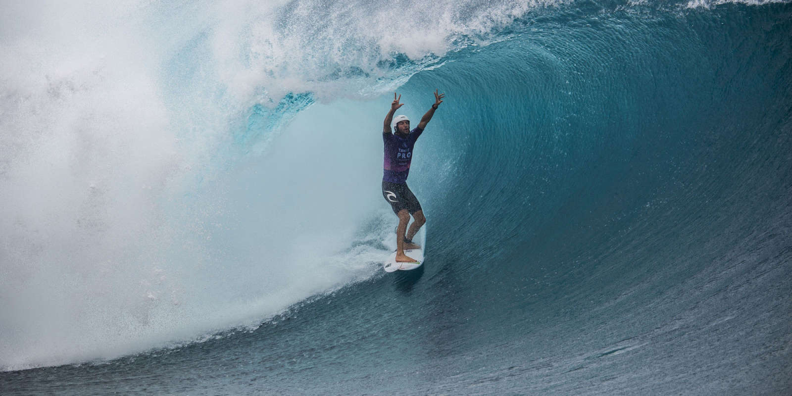 """A Monster Energy preview of the 2019 Tahiti Pro Teahupo'o   Shakespeare taught us that a rose by any other name would smell as sweet. Just like no matter how you pronounce the wave at The End Of The Road in Tahiti — """"Tcho-poo"""", """"Tcho-poh-oh"""" or """"Tay-a-ho-"""