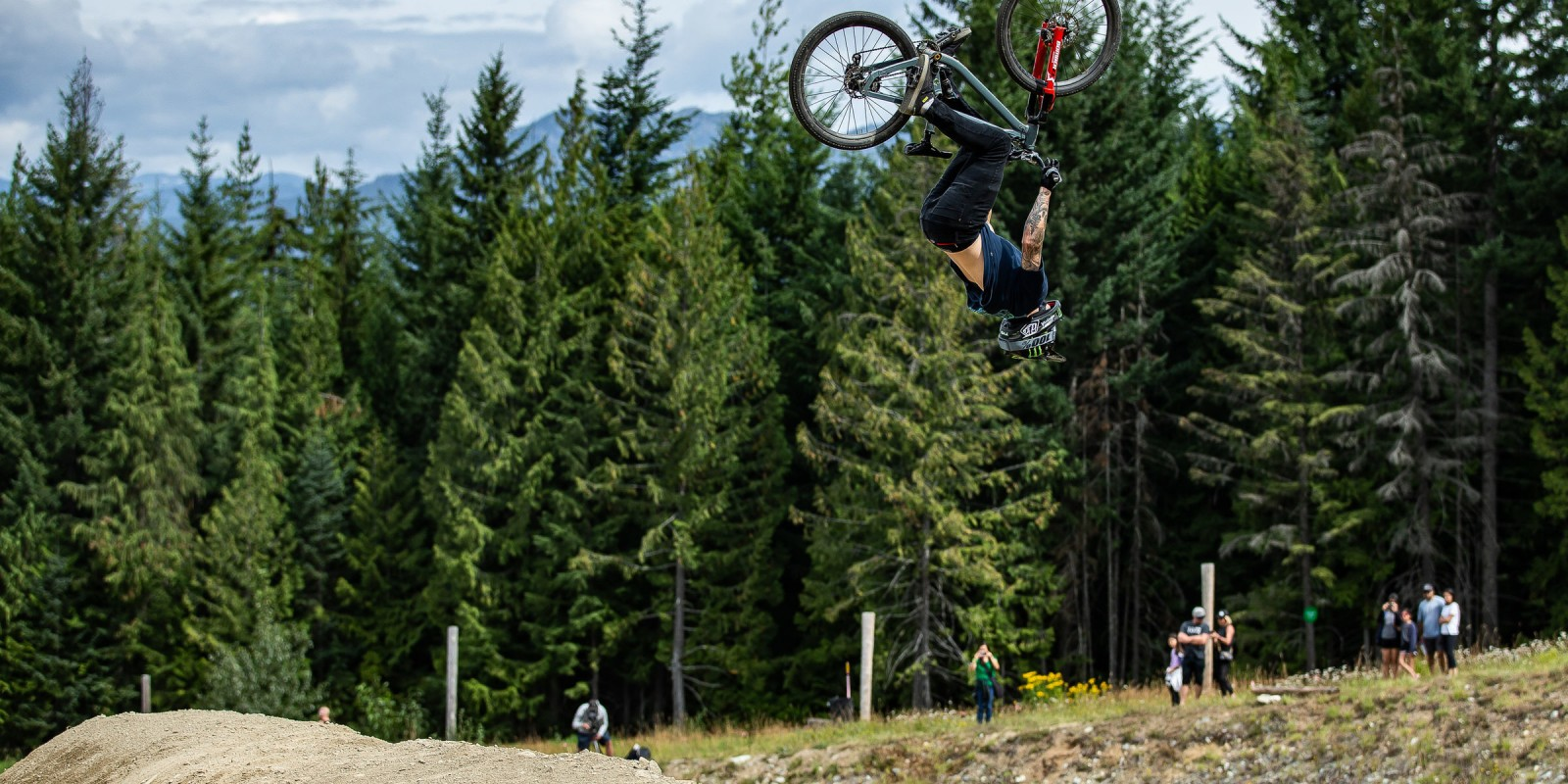 Monster Energy's Mitch Ropelato (USA) continues his domination at Crankworx Whistler with yet another gold medal, taking home the win in the Speed and Style event.