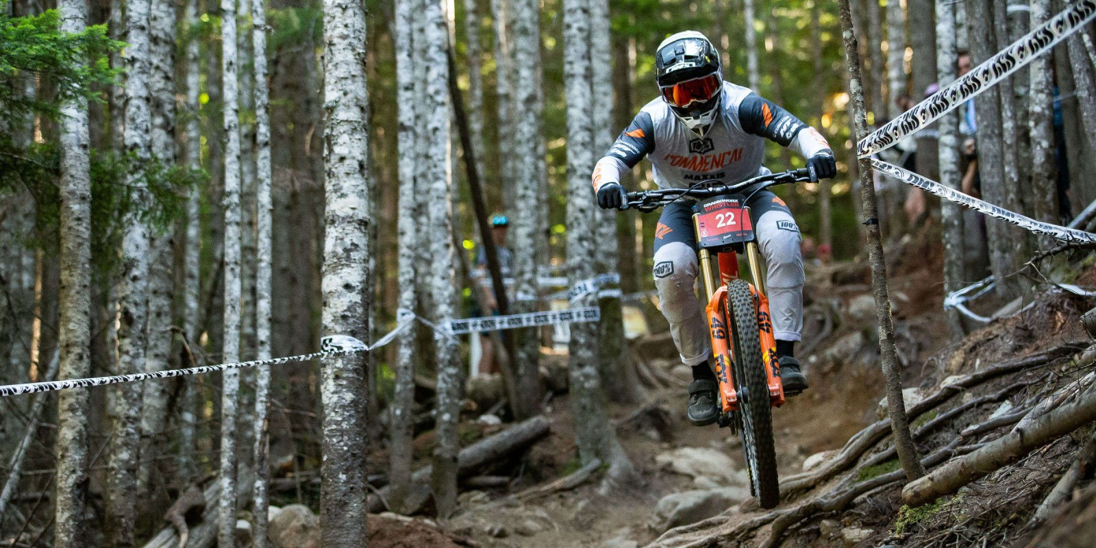 Images from the Crankworx Whistler Canadian Open DH race