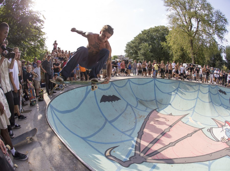 Monster skate athletes at 2018 CPH Open in Amsterdam